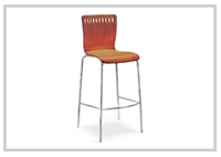 Amarula barstool or Counter Chair  Light imbuia