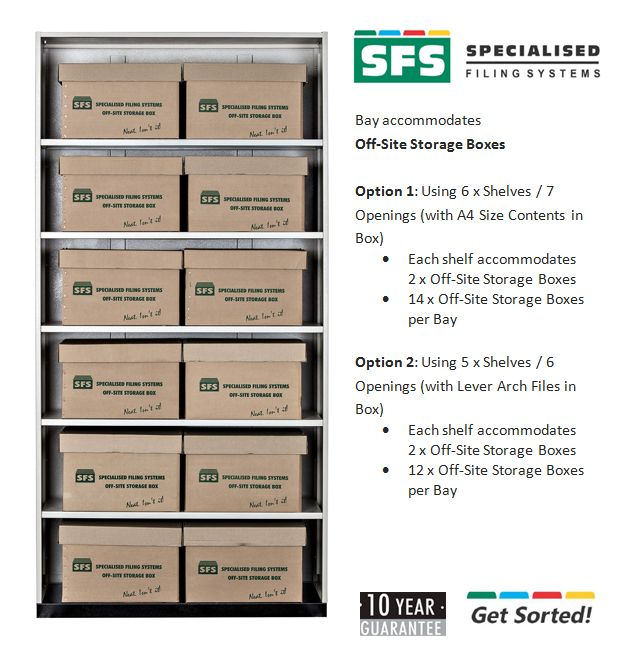 off-site storage boxes