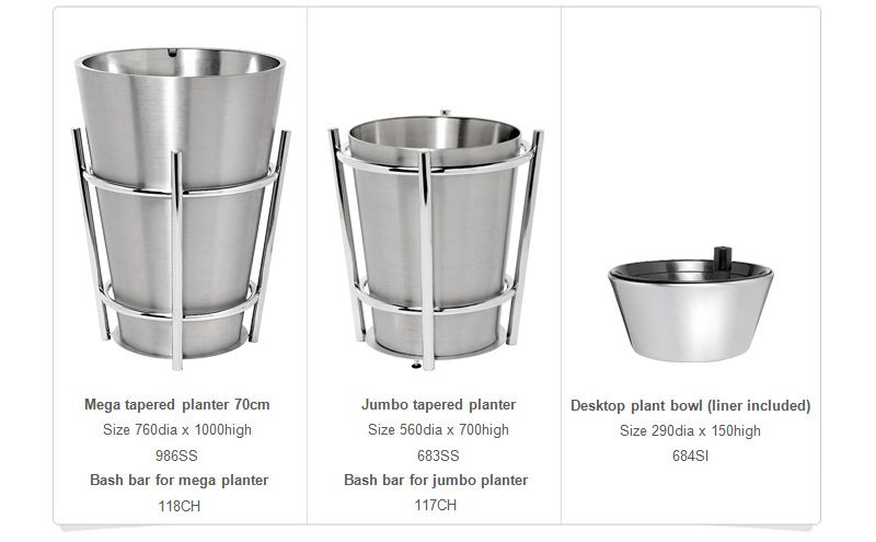 Planters Tapered 2